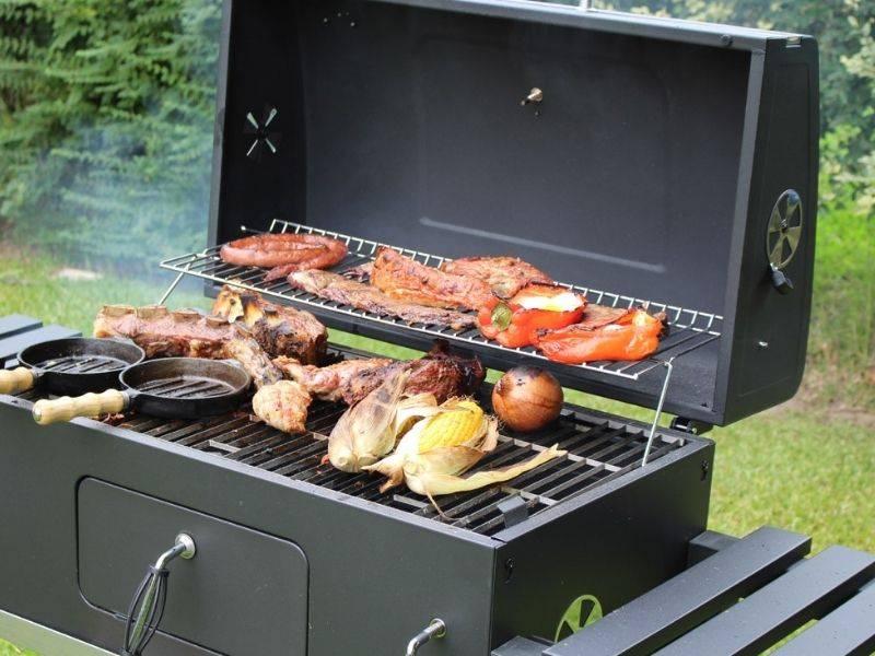 Parrilla a carbón sin humo de BBQ-Grill